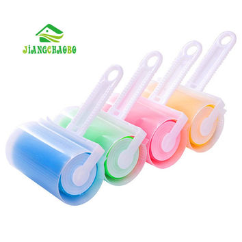 1 Pc Washable Sticky Hair Sticky Clothes Sticky Buddy For Wool Dust Catcher Carpet Sheets Hair Sucking Sticky Dust Roller Drum