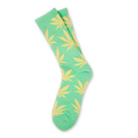HUF - HUF PLANTLIFE SOCKS PASTEL PACK // GREEN / YELLOW