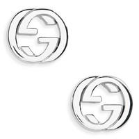 Gucci Interlocking Stud Earrings | Nordstrom