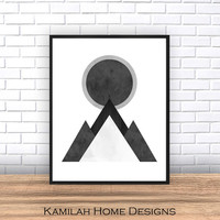 Scandinavian Print, Abstract Wall Art, Printable Art, Geometric Print, Printable Scandinavian Art, Printable Prints, Instant Download Art