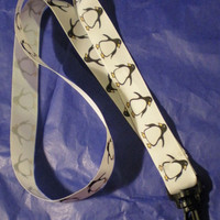 Pretty penguin lanyard