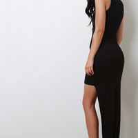 High Low Bodycon Dress