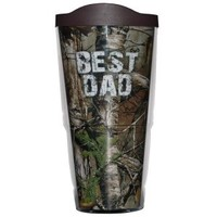 Realtree© 'BEST DAD'  Camo Tervis 24 ounce Trumbler | Father's Day Gift