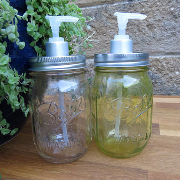 Soap Dispenser , Mason Jar , Bathroom , Soap Pump , kitchen , mason jar soap, condiment dispenser , soap , jar soap dispenser , home decor
