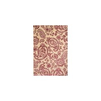Abacasa Sonoma Ivory/Raspberry Hinsley Floral Rug