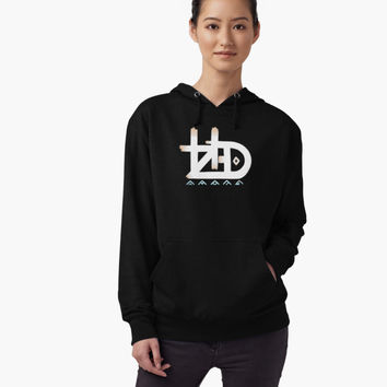 'HZD' Women's Relaxed Fit T-Shirt by LykosKrafts