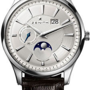 Zenith - Elite Captain Moonphase Stainless Steel #03.2140.691/02.C498