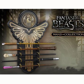 Metal Core Harry Potter Fantestic Beats Quality Deluxe COS Newt Queeni Seraphina Magic Wands/Stick with Gift Box Packing