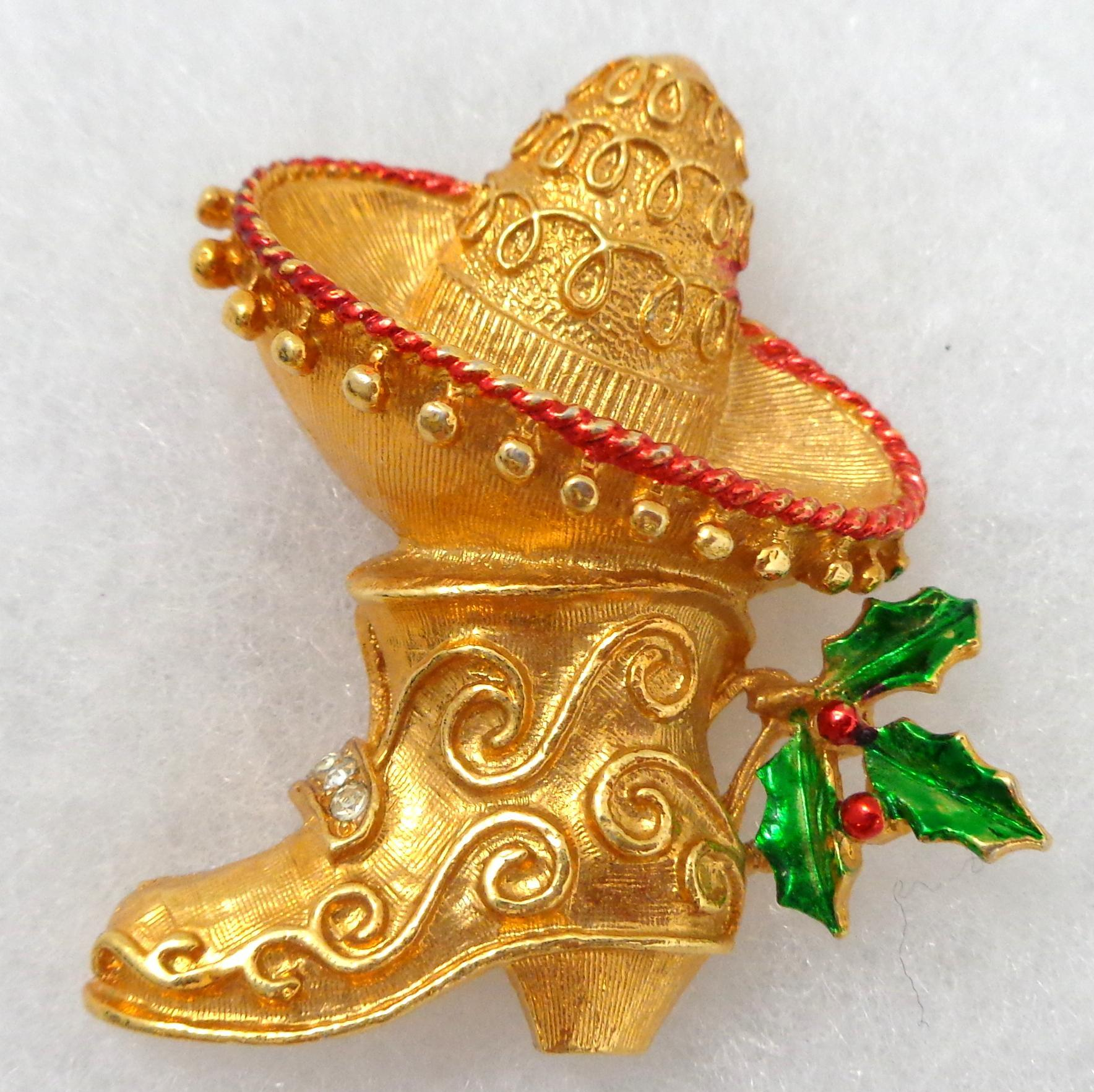 Vintage Corel Holiday Mexican Sombrero From Rubylane Vintage