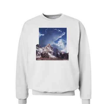 Mountain Pop Out Sweatshirt by TooLoud