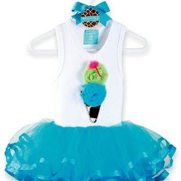 Mud Pie-Giraffe Tutu Dress