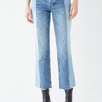 BDG High-Rise Straight + Narrow Jean - Spliced | Urban Outfitters Canada