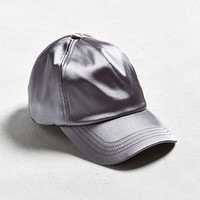 UO Satin Baseball Hat - Urban Outfitters