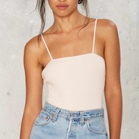 Straight to You Ribbed Bodysuit