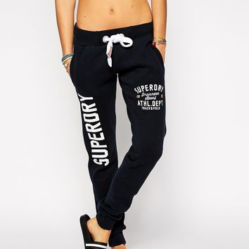 Superdry Oversized Logo Sweat Pants