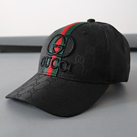 Gucci Embroidery Woman Men Fashion Sport Baseball Hat Cap