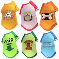 Cute Pet Puppy Dog Funny Clothing