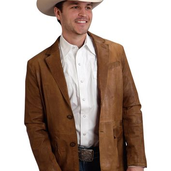 Stetson Soft Leather Sport Coat