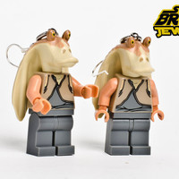 Lego Jar Jar Binks Earrings