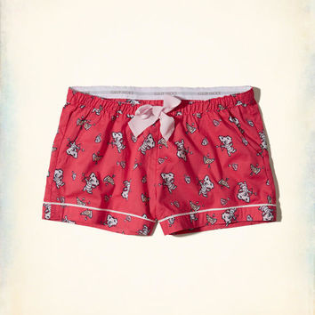 Gilly Hicks Woven Sleep Shorts | Gilly Hicks Sleepwear & Lounge | HollisterCo.com
