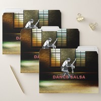 TOP Dance Salsa File Folder