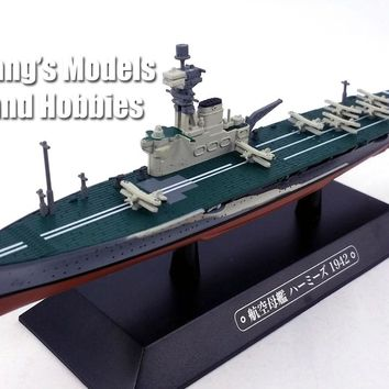 HMS Hermes (95) 1942 - Royal Navy 1/1100 Scale Diecast Metal Model Ship by Eaglemoss