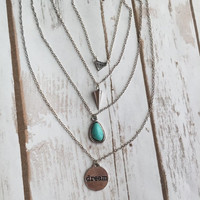 Dream Dainty Layered Necklace (Multiple Colors)