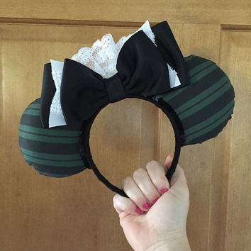 Haunted Mansion maid ispired mouse ears