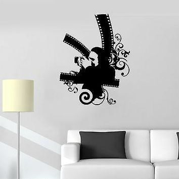 Wall Stickers Vinyl Decal Photo Art Camera Film Photography Journalist Unique Gift (ig1237)