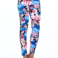 Aoki Fashion - Flower Pattern Leggings