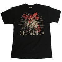 Dr. Acula- Robot - T-Shirt- Official Band Merch - Powered by MerchDirect