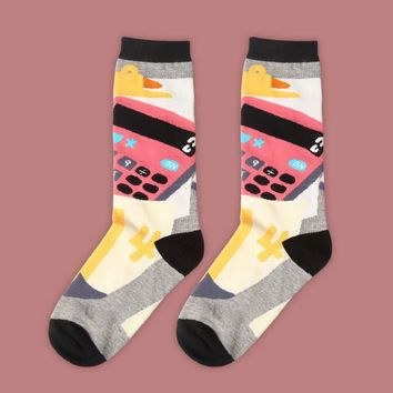 Calculator Sock