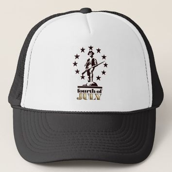 Minuteman July 4th 1776 Trucker Hat
