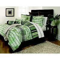 The Great Find- -16 Piece Comforter Set Lynette-Bed & Bath-Decorative Bedding-Comforters & Sets