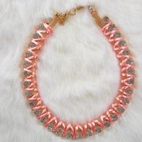 Pink Candy Necklace
