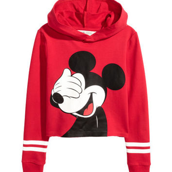 H&M Short Hooded Sweatshirt $19.99