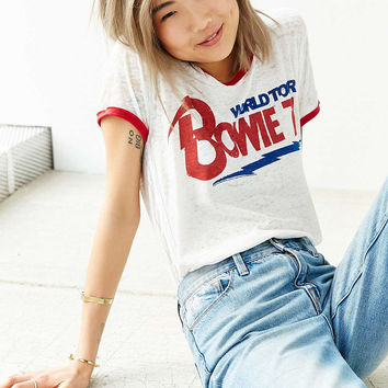 TRUNK LTD David Bowie Banded Tee - Urban Outfitters