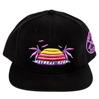 Natural High snapback hat