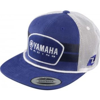 One Industries Yamaha OG Snapback Hat Blue | One Industries Adult Caps at Bob's Cycle Supply | Bob's Cycle Supply