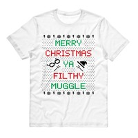 Merry Christmas Ya Filthy Muggle Shirt