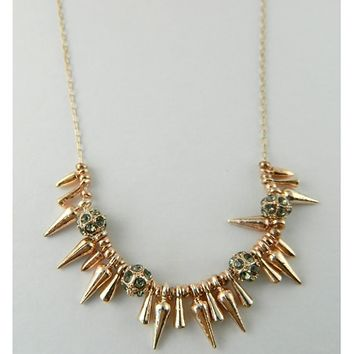 Spike Necklace - renegade cluster spike necklace