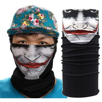 New Outdoor Sports Cycling Face Mask Warmer Cycling Bike Bicycle Riding Head Scarf Halloween Scarves Bandana 2N
