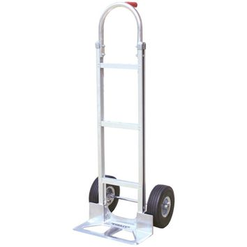 Monster Trucks Aluminum Hand Truck With Foam Rubber Tires (stick Handle)