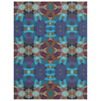 Bohemian ornament in ethno-style, Aztec Fleece Blanket