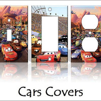 Cars Disney Pixar Light Switch Covers by KeepCalmandTurnItOn