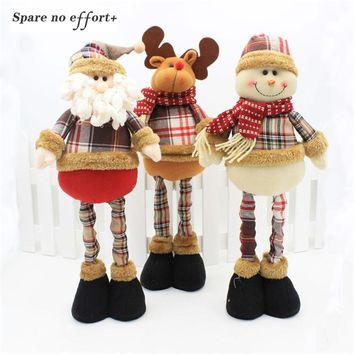 Christmas Dolls Christmas Decorations for Home Christmas Tree Ornament Xmas Standing Figurines Christmas Gift Navidad 2019