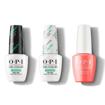 OPI - GelColor Combo - Base, Top & Orange You a Rock Star?