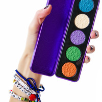 Lime Crime Alchemy Duchrome Pressed Eyeshadow Palette Multi One