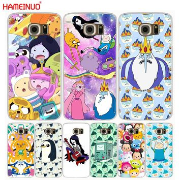 HAMEINUO Adventure time Pokemons Pokes Ball Coque cell phone case cover for Samsung Galaxy S7 edge PLUS S8 S6 S5 S4 S3 MINI