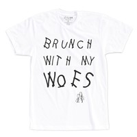 BRUNCH WITH MY WOES | TEXT SHIRT